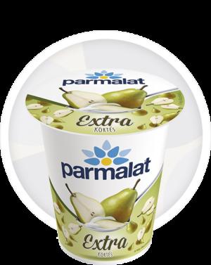 Parmalat Extra gyümölcsjoghurt Körtés