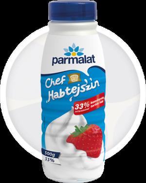 Parmalat habtejszín palackos