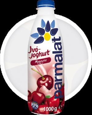 Parmalat meggyes ivójoghurt