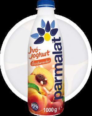 Parmalat őszibarackos ivójoghurt