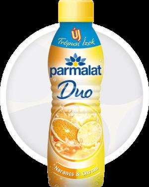 Parmalat Duo joghurtital Narancs-Citrom