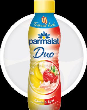 Parmalat Duo joghurtital Banán-Eper