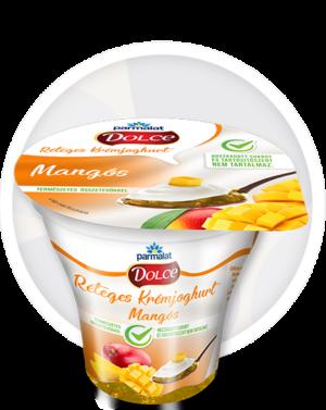 Parmalat Dolce Réteges Krémjoghurt Mangós